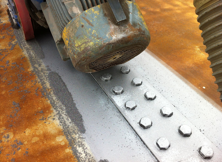 Exposing Bolts and Joints on Kessock Bridge