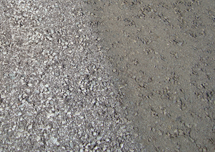 Re Textured Asphalt on Road Highway