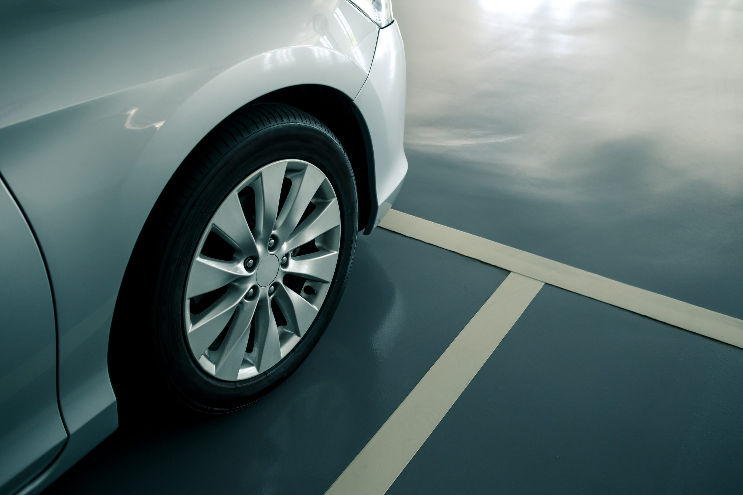 Anti-Slip Surface in a Car Park